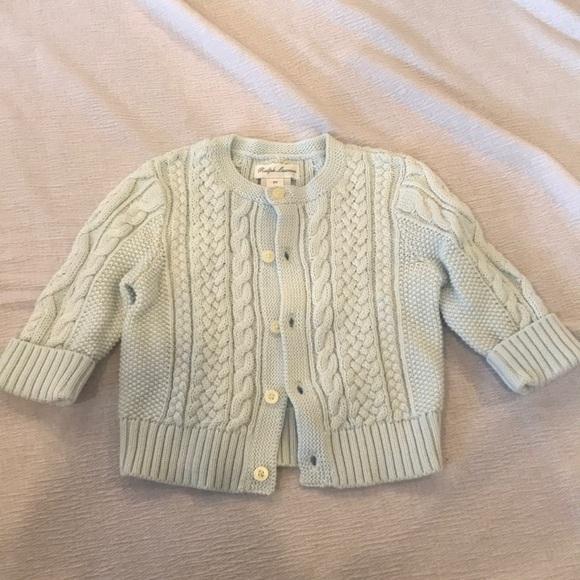 f90fafd53b Ralph Lauren Shirts & Tops | Unisex Aranknit Cotton Cardigan | Poshmark